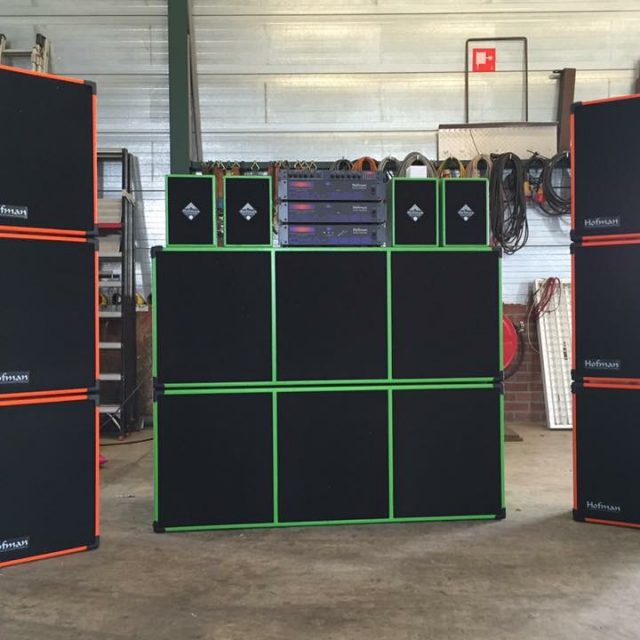 KMG Sound Systems luidsprekers