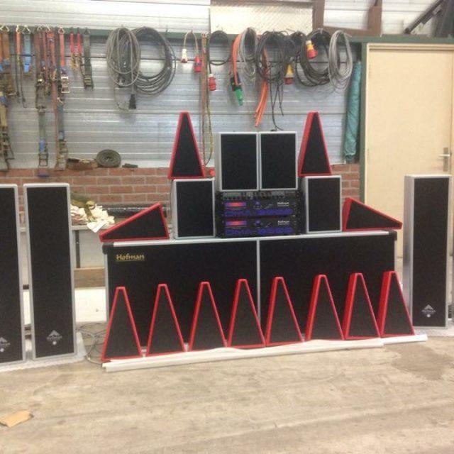 KMG Sound Systems luidsprekers